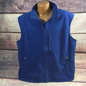 Duluth Trading Vest Men's 2XL Blue Polyester